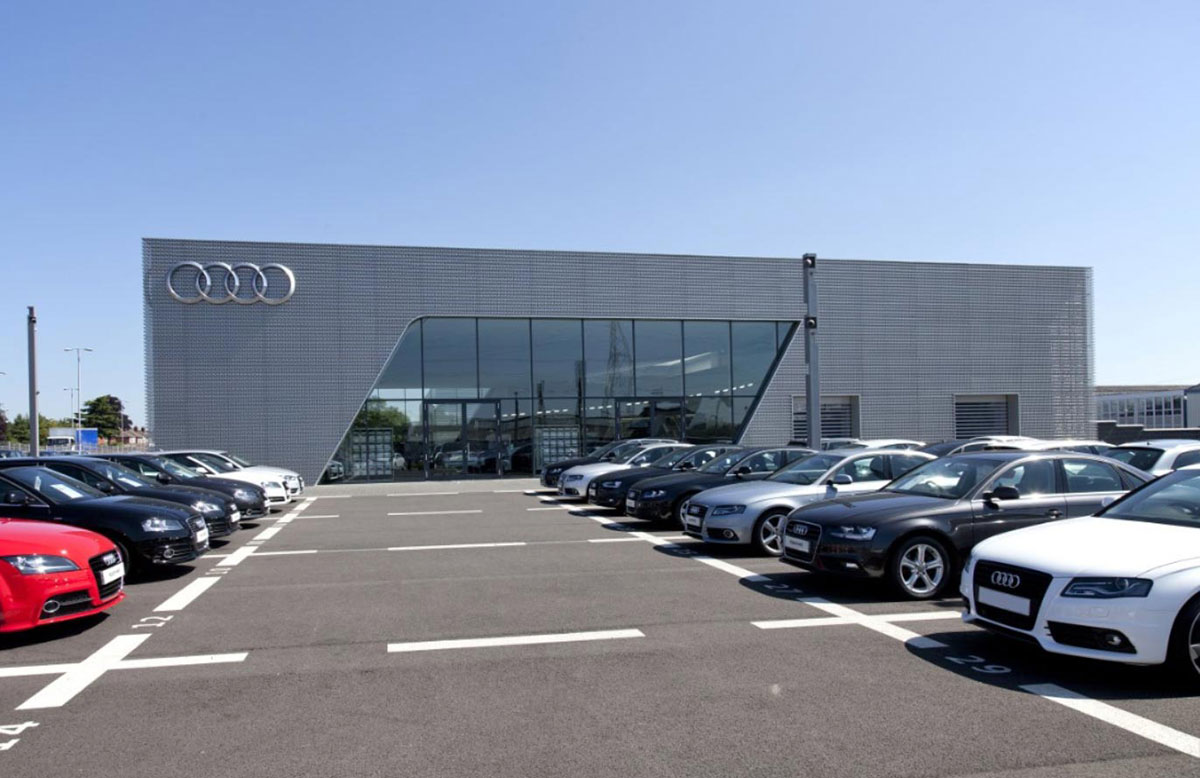Audi McDonald Lappin Engineering - Mcdonald audi